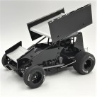 1/18 Sprint Car 2.0, Black, RTR