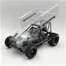 1/18 Sprint Car 3.0, Clear, RTR