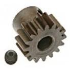 Module .8 15T extra hard 5mm pinion gear